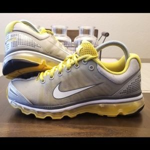 Nike Air Max 2009 Grey Yellow Size 7.5